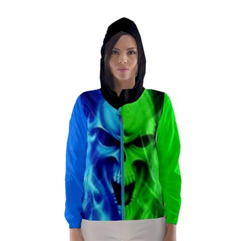 Women s Hooded Windbreaker