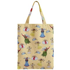Christmas Angels  Zipper Classic Tote Bag by Valentinaart