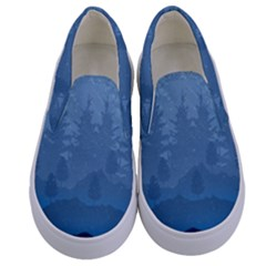 Blue Mountain Kids  Canvas Slip Ons