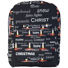 Candles Christmas Advent Light Full Print Backpack by Celenk