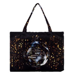 Christmas Star Ball Medium Tote Bag by Celenk