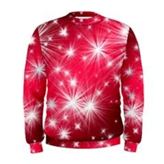 Christmas Star Advent Background Men s Sweatshirt