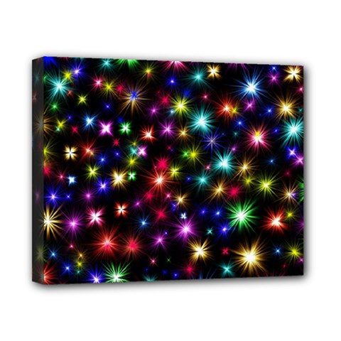Fireworks Rocket New Year S Day Canvas 10  X 8  by Celenk