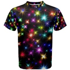 Fireworks Rocket New Year S Day Men s Cotton Tee by Celenk