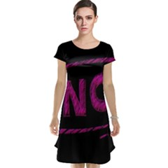No Cancellation Rejection Cap Sleeve Nightdress