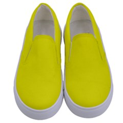 Beautiful Yellow Kids  Canvas Slip Ons
