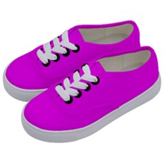 Trendy Purple Kids  Classic Low Top Sneakers by Costasonlineshop
