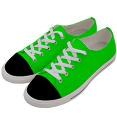 Cool Green Women s Low Top Canvas Sneakers by Costasonlineshop