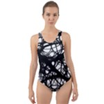 Neurons Brain Cells Brain Structure Cut-Out Back One Piece Swimsuit