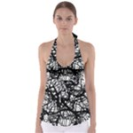 Neurons Brain Cells Brain Structure Babydoll Tankini Top