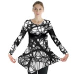 Neurons Brain Cells Brain Structure Long Sleeve Tunic