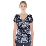 Neurons Brain Cells Brain Structure Short Sleeve Front Detail Top