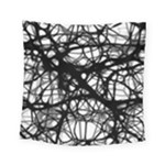 Neurons Brain Cells Brain Structure Square Tapestry (Small)