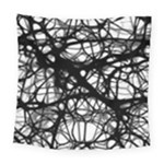 Neurons Brain Cells Brain Structure Square Tapestry (Large)