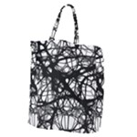 Neurons Brain Cells Brain Structure Giant Grocery Zipper Tote