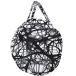 Neurons Brain Cells Brain Structure Giant Round Zipper Tote
