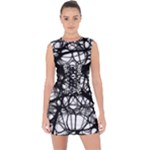 Neurons Brain Cells Brain Structure Lace Up Front Bodycon Dress