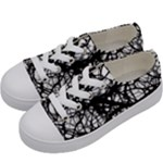 Neurons Brain Cells Brain Structure Kids  Low Top Canvas Sneakers
