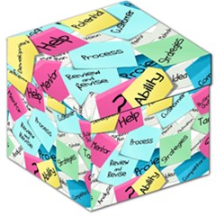 Stickies Post It List Business Storage Stool 12   by Celenk