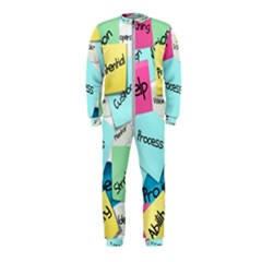Stickies Post It List Business Onepiece Jumpsuit (kids) by Celenk