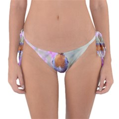 Spring Bird Bird Spring Robin Reversible Bikini Bottom by Celenk