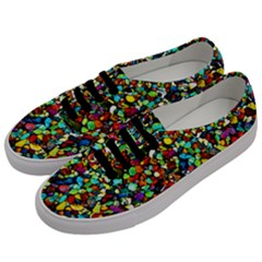 Colorful Stones, Nature Men s Classic Low Top Sneakers by Costasonlineshop