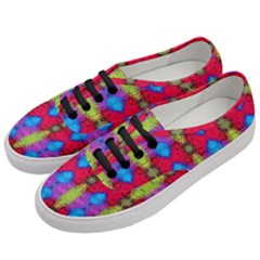 Colorful Painting Goa Pattern Women s Classic Low Top Sneakers by Costasonlineshop