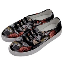 The Birth Of Christ Men s Classic Low Top Sneakers by Valentinaart
