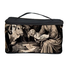 The Birth Of Christ Cosmetic Storage Case by Valentinaart