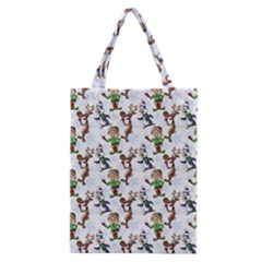 Christmas Pattern Classic Tote Bag by tarastyle