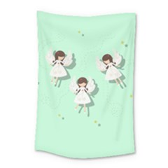 Christmas Angels  Small Tapestry by Valentinaart