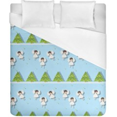 Christmas Angels  Duvet Cover (california King Size) by Valentinaart