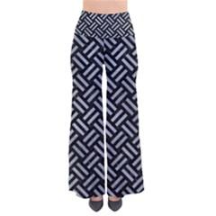 Woven2 Black Marble & Silver Paint (r) Pants by trendistuff