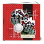 Baseball Softball 8x8 Photo Book - 8x8 Photo Book (20 pages)