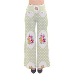 Green Shabby Chic Pants by 8fugoso