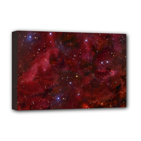 Abstract Fantasy Color Colorful Deluxe Canvas 18  X 12   by Celenk