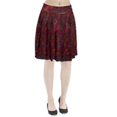 Abstract Fantasy Color Colorful Pleated Skirt