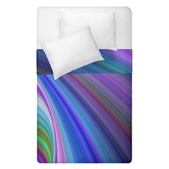 Background Abstract Curves Duvet Cover Double Side (single Size) by Celenk