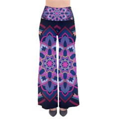 Mandala Circular Pattern Pants by Celenk