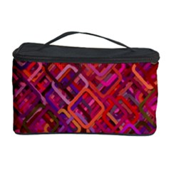 Pattern Background Square Modern Cosmetic Storage Case by Celenk