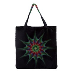 Star Abstract Burst Starburst Grocery Tote Bag by Celenk