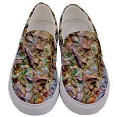 Abstract Background Wallpaper 1 Men s Canvas Slip Ons