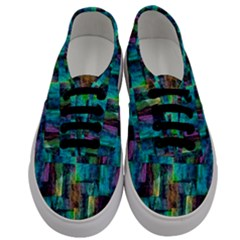 Abstract Square Wall Men s Classic Low Top Sneakers