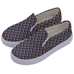 Native American Pattern 2 Kids  Canvas Slip Ons by Cveti