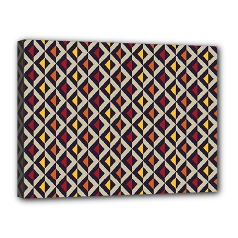 Native American Pattern 5 Canvas 16  X 12  by Cveti