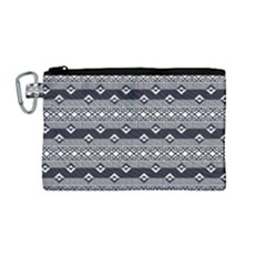 Native American Pattern 9 Canvas Cosmetic Bag (m)