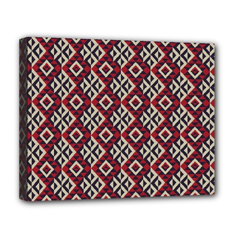 Native American 10 Deluxe Canvas 20  X 16   by Cveti