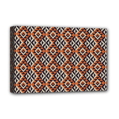 Native American Pattern 11 Deluxe Canvas 18  X 12   by Cveti
