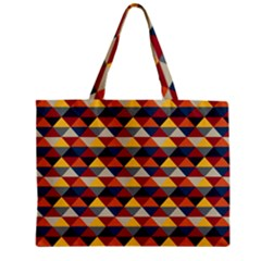 Native American Pattern 16 Zipper Mini Tote Bag by Cveti