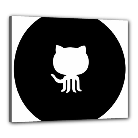 Logo Icon Github Canvas 24  X 20  by Celenk